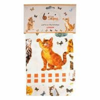 Cooking Apron Cotton Twill Chef Baking Kitchen Unisex Novelty Cats BBQ Grill New